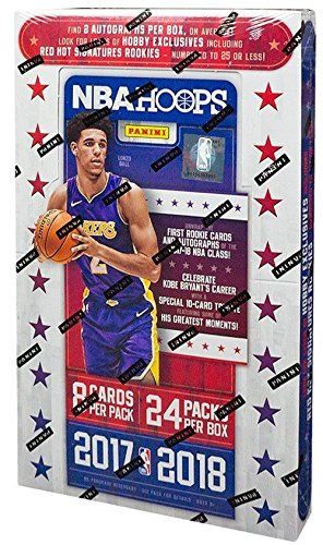 2017/18 Panini Hoops NBA Basketball HOBBY box (24 pk) ()