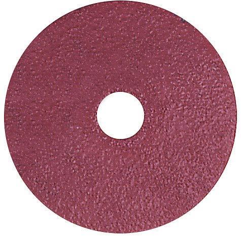 Coated Finishing Disc - 4-1/2 in Disc Dia, Aluminum Oxide, 120 Grit (126 Units)