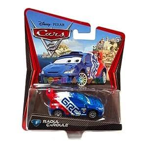Disney pixar cars 2 raoul caroule 9 juguetes - Juguetes disney cars ...
