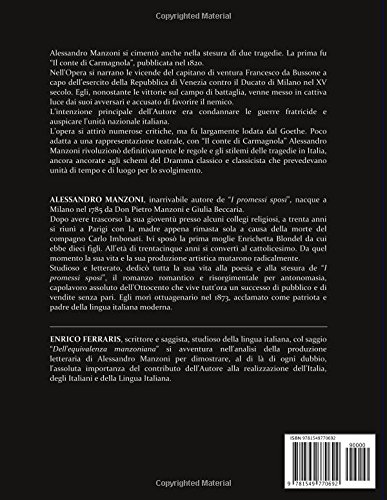 Il conte di carmagnola edizione integrale contiene la una il conte di carmagnola edizione integrale contiene la una biografia dettagliata di alessandro manzoni e linedito saggio dellequivalenza manzoniana fandeluxe Images