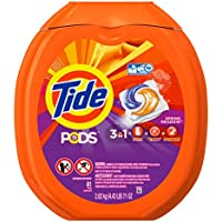 81-Count Tide PODS 3-in-1 HE Turbo Laundry Detergent Pacs (Spring Meadow Scent)