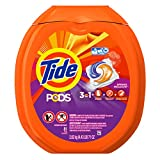 Tools & Home Improvement : Tide PODS Spring Meadow HE Turbo Laundry Detergent Pacs 81-load Tub