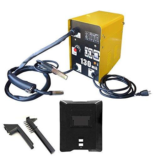 domeiki-flux-welder-w-auto-wire-feed-110v-100-amp-mig-spool-core-automotive-garage