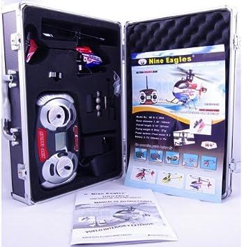 Nine Eagles Solo Pro V3 Pack Especial. Helicoptero radiocontrol de nivel medio: Amazon.es: Juguetes y juegos