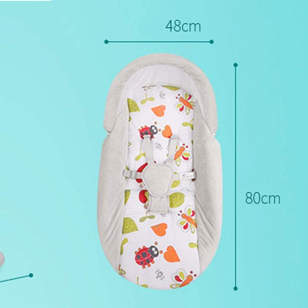 Babyschaukel Mit 2 H/ängenden Spielzeugen Und Kinderreime Vier Gang Schwenkverstellung KUANDARDZ Sicherheit Elektrisch Babywippe Ab Geburt Bis 18 Kg Verwendbar Multifunktional