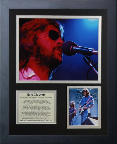 "Legends Never Die ""Eric Clapton Framed Photo Collage, 11 x 14-Inch"