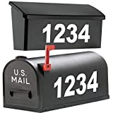 2'' High Mailbox Numbers. / Premium Reflective Vinyl. / Custom Home Business Street House Apartment Address Numbers. / Outdoor Letter Number Decal Window Door Sticker Text. / by 1060 Graphics.