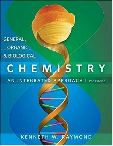 Download Hardcover:By Kenneth W. Raymond: General, Organic and Biological Chemistry Second (2nd) Edition PDF