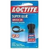 Henkel-Loctite 852882 20 Pack 5 Gram Brush On Super Glue, Clear