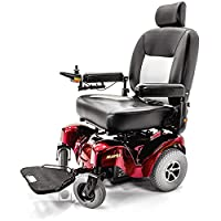 ATLANTIS Heavy Duty Bariatric Electric Power Wheelchair Merits P710 with Challenger Custom Cover
