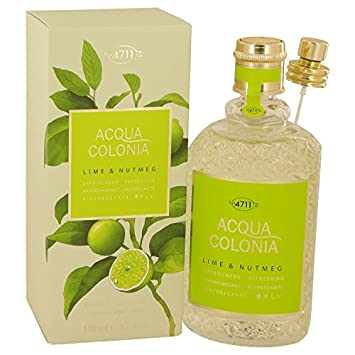 4711 Acqua Colonia Lime & Nutmeg Perfume by Máúrér & Wírtz 5.7 oz Eau De Cologne
