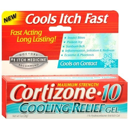 Cortizone 10 Hydrocortisone Anti-Itch Intense Healing Formula Cream - 2 Oz, 5 pack by Cortizone 10