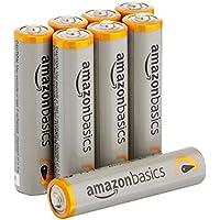 8 Pack AmazonBasics AAA Performance Alkaline Batteries