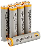 #4: AmazonBasics AAA Performance Alkaline Batteries (8-Pack) - Packaging May Vary