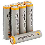 AmazonBasics AAA Performance Alkaline Batteries (8-Pack) - Packaging May Vary