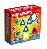 Magformers Classic 30 Piece Set (colors may vary), Baby & Kids Zone