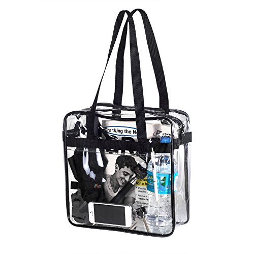 Bags for LessTM NFL Approved Clear Stadium Zippered Security Bag