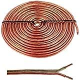 Cable altavoz 5m - 2x1,5mm² - 100% CCA Cobre ; Cable de audio