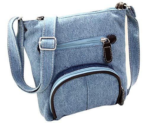 HITSAN INCORPORATION 2018 Casual Women s Crossbody Bag Cool Denim Cloth  Mini Messenger Shoulder Bag For Girls 7649e6b144