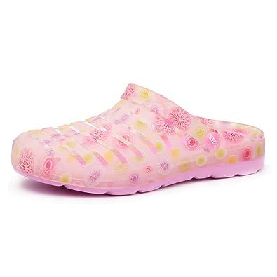 Damenschuhe/ Flach-Boden Jelly Shoes/Badeschuhe/ Pantoffel-Slip-A Fußlänge=22.8CM(9Inch) IaBXCH2W