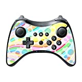 Colorful Design Bright Colors Lines Design Wii U Pro Controller Vinyl Decal Sticker Skin by Moonlight Printing