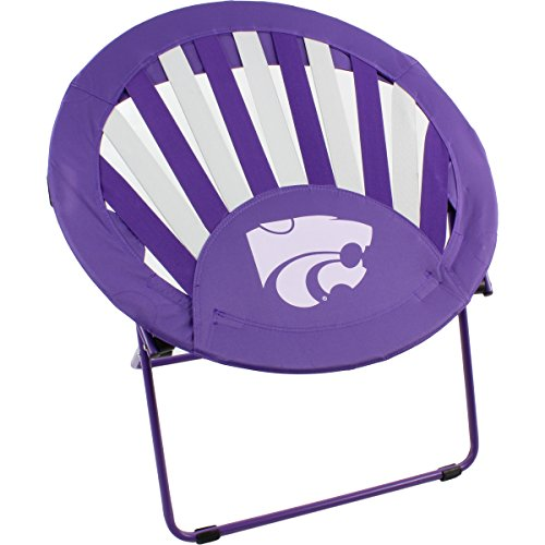 College Covers Kansas State Wildcats NCAA Rising Sun Bungee Chair by College Covers
