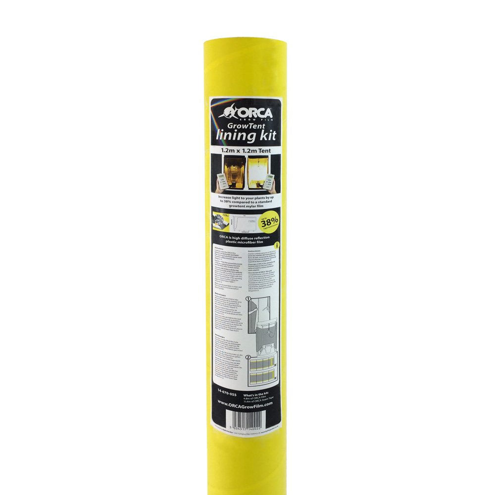 Orca 1.2 x 1.2m Grow Film and Tent Lining Kit 14-670-055