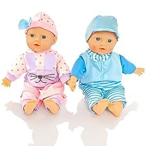 Amazon.es: Molly Dolly - Muñecas gemelas: Juguetes y juegos