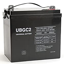 Ubgc2 6v 200ah Sla Battery For Pure Sine Wave Pst-100s-24a