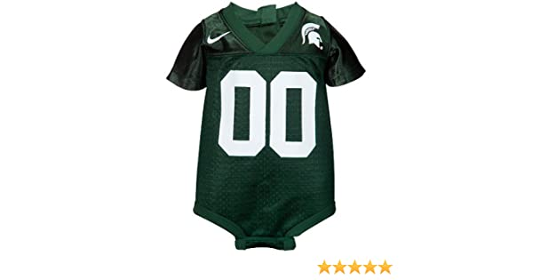 Amazon.com   NIKE Michigan State Spartans Baby Football Jersey Creeper (12  Months)   Infant And Toddler Sports Fan Apparel   Sports   Outdoors 87110e3d1