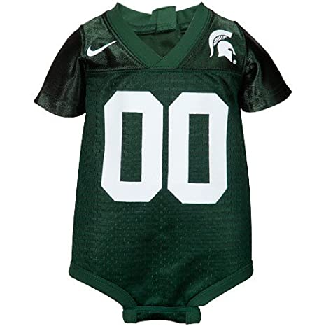 NIKE Michigan State Spartans Baby Football Jersey Creeper (12 Months) dafb0e98a