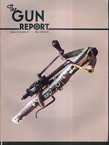 GUN REPORT 1896 Revolver Cartridge Box Winchester 70 Moses Wright 5 1990 ()