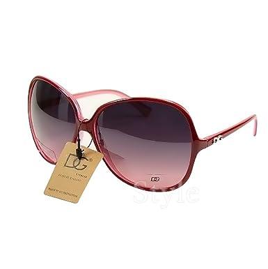 DG Eyewear ® Gafas de Sol mujer Moda - rojo granate Nuevas ...