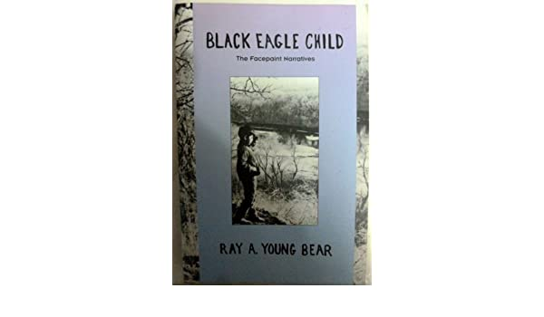 black eagle child young bear ray a