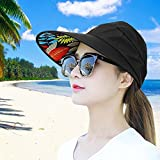 HindaWi Sun Hats for Women Wide Brim Sun Hat UV