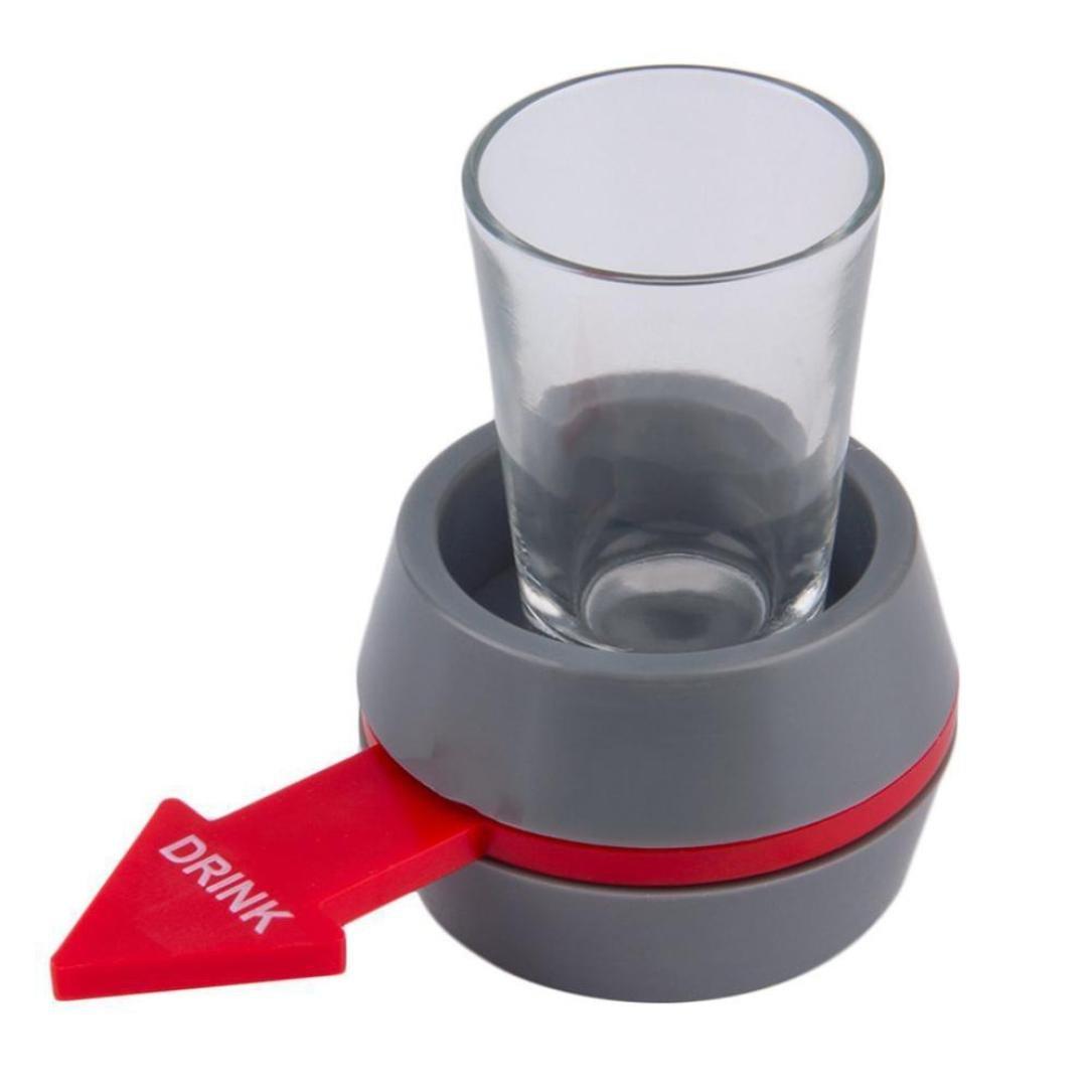 Vestido® centrifugador de tocadiscos portátil Spin The Shot juego ...