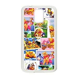 Personalized Fantastic Skin Durable Rubber Material Samsung Galaxy s5 Case - Winnie the Pooh