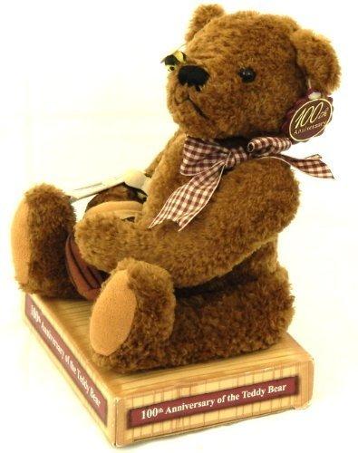 - Stuffed Teddy's Teddy Roosevelt 100th Anniversary SPECIAL EDITION of the Teddy Bear 2001 Plush Animal by Dandee