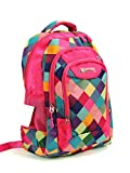 Lightweight Backpack for Girls, Cute TRAVEL Daypack (Pink)
