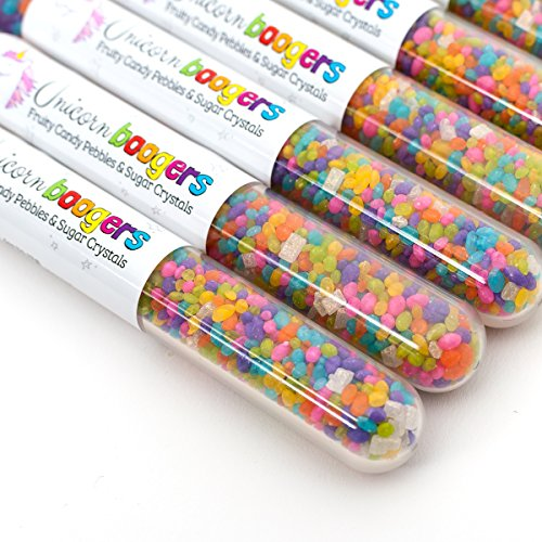 Unicorn Boogers Candy | 6-Pack | Fun Party Favor! | Gluten, Dairy, Soy and  Nut Free! | Fruit Flavored