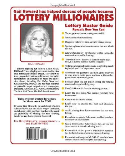 Gail Howard Lottery Master Guide Pdf