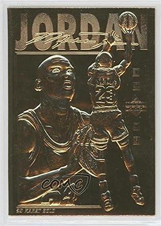 fb0ba04a4a0f6 Amazon.com: Michael Jordan #/25,000 (Basketball Card) 1995 Upper ...