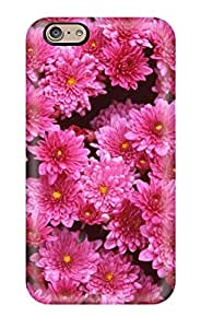 9907160K37264716 New Magenta Mums Skin Case Cover Shatterproof Case For Iphone 6