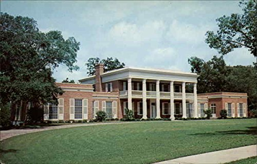 Governor's Mansion Tallahassee, Florida Original Vintage - Governor Tallahassee