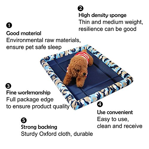 durable service MIWIND Deluxe Bolster Pet Bed for Dogs & Cats