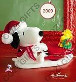 Hallmark Peanuts Swingin' with Snoopy and Woodstock Plush Interactive Holiday Display