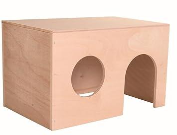 Trixie Casita para cobaya, 24 x 15 x 15 cm: Amazon.es: Productos para mascotas