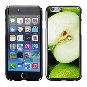 Paccase / SLIM PC / Aliminium Casa Carcasa Funda Case Cover - Fruit Macro Green Apple - Apple Iphone 6 Plus 5.5