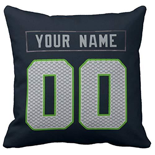 - Personalized Custom Football Decorative Throw Pillow 18