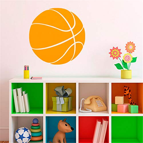 masern Wall Art Stickers Quotes and Sayings Boys Room Decal Basketball Balloon for Boys Room